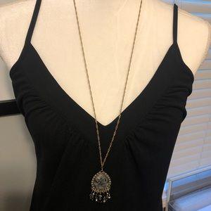 BCBG Paris Dresses - BCBG Paris Black Spaghetti Strap Dress